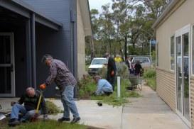 Volunteer-gardeners