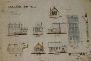 Dereel-school-plans-on-display-at-Dereel-History-Day