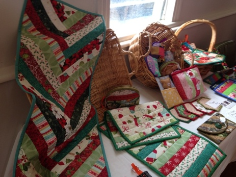 Diana's main focus is quilting, but she also enjoys working with other crafts.