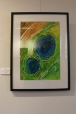 Work by Glynis Bryden can be viewed in the Dereel Soldiers Memorial Hall.
