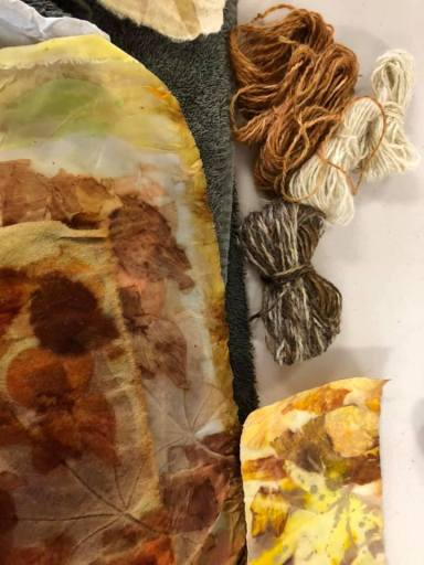 Eco Dye: The finished products