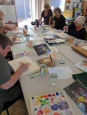 Watercolour: painting