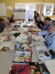 Watercolour: Setting up
