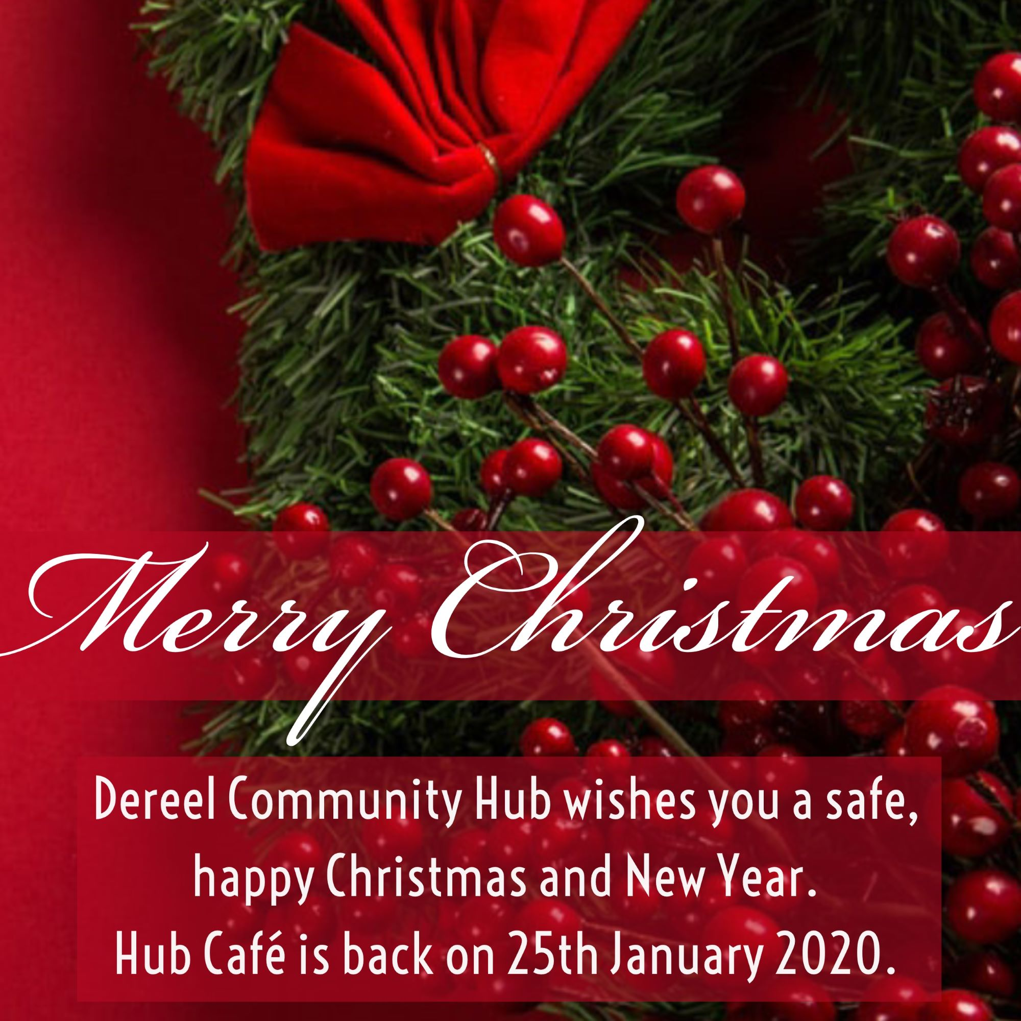 Merry Christmas from the Dereel Community Hub!